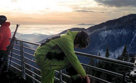 Chopok Skiing Advanced lyziarske podkolienky 2015