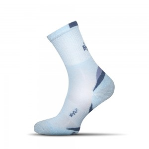 Clima Plus bambusove ponozky svetlo modre