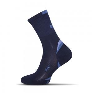 Clima Plus bambusove ponozky tmavo modre