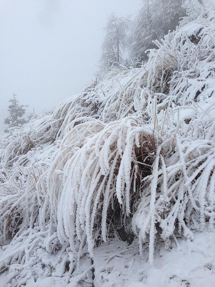 Vysoke Tatry namrznuty sneh