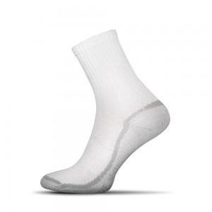 Sensitive ponozky biele