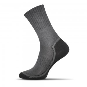 Sensitive ponožky svetlo sede