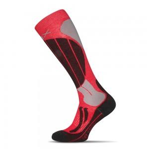 Lyziarske ponozky Skiing Anatomic cervene