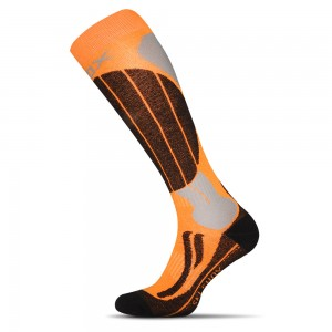 Lyziarske ponozky Skiing Anatomic oranzove