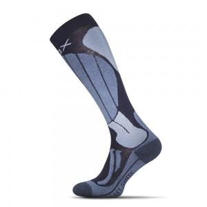 Lyziarske ponozky Skiing Anatomic tmavo modra