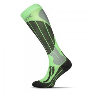 Lyziarske ponozky Skiing Anatomic zelena