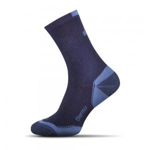 Termo ponozky tmavo modra