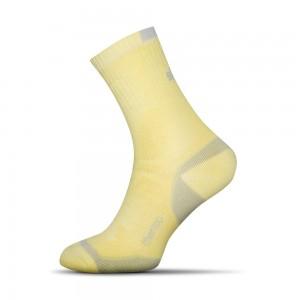 Termo ponozky zlta