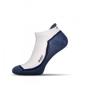 Summer power bielo-modre ponozky Shox