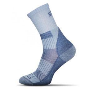 Light Trek ponozky svetlo modre