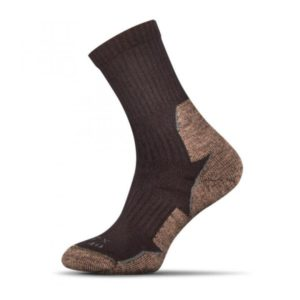 Trekking ponozky hnede